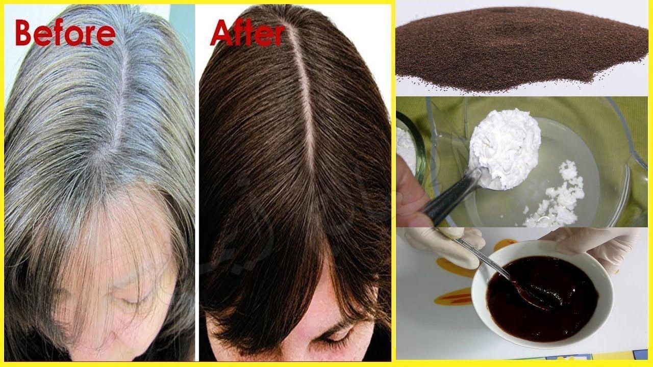 بملعقة شاي وملعقة نشا تخلصي من الشيب حتى لو كان شعرك كله أبيض و من الإستعمال الأول علاج شيب الشعر Youtube Hair Remedies For Growth Hair Wrap Beauty