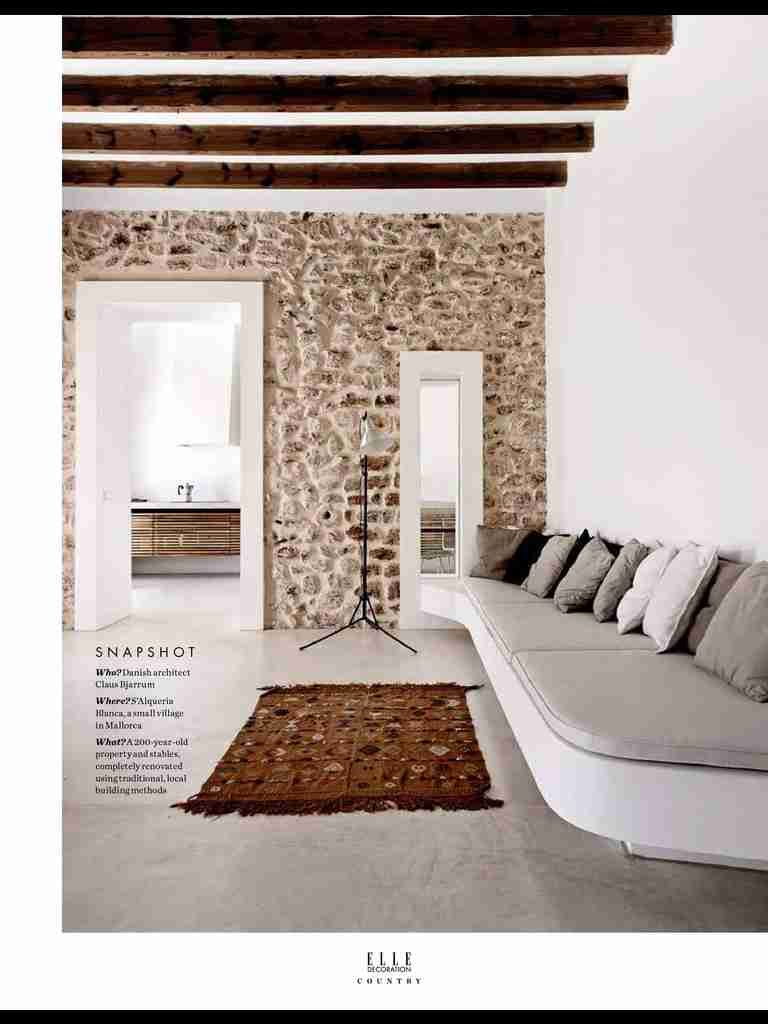 I Saw This In Country In Elle Decoration Country Vol 6 Stone