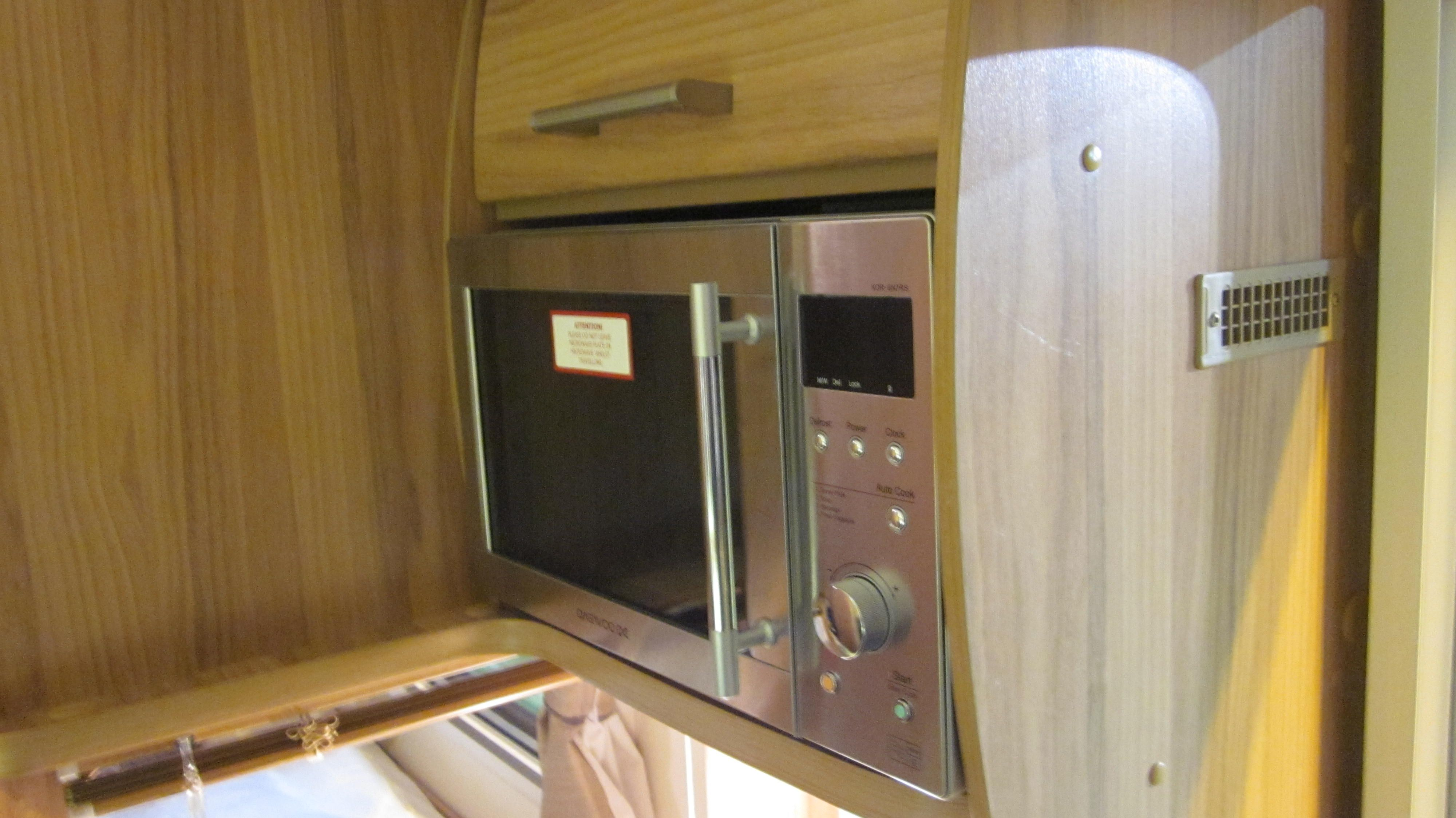 Bailey Pegasus GT65 Verona The Microwave Is Mounted On Right As You Enter