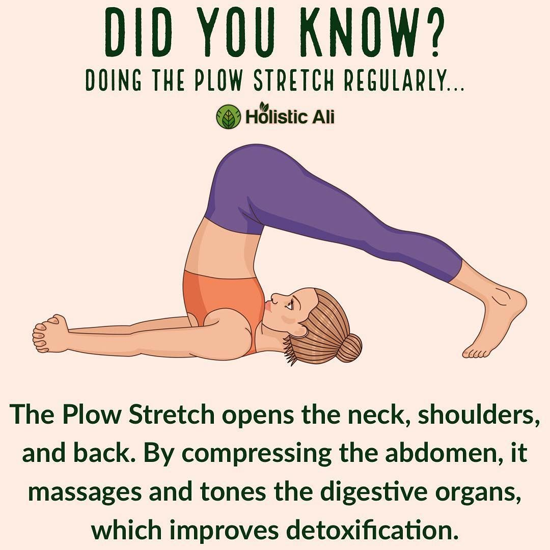 Do you do plow stretch pose? Lie on your back with your arms beside you, palms downwards. As you inh...