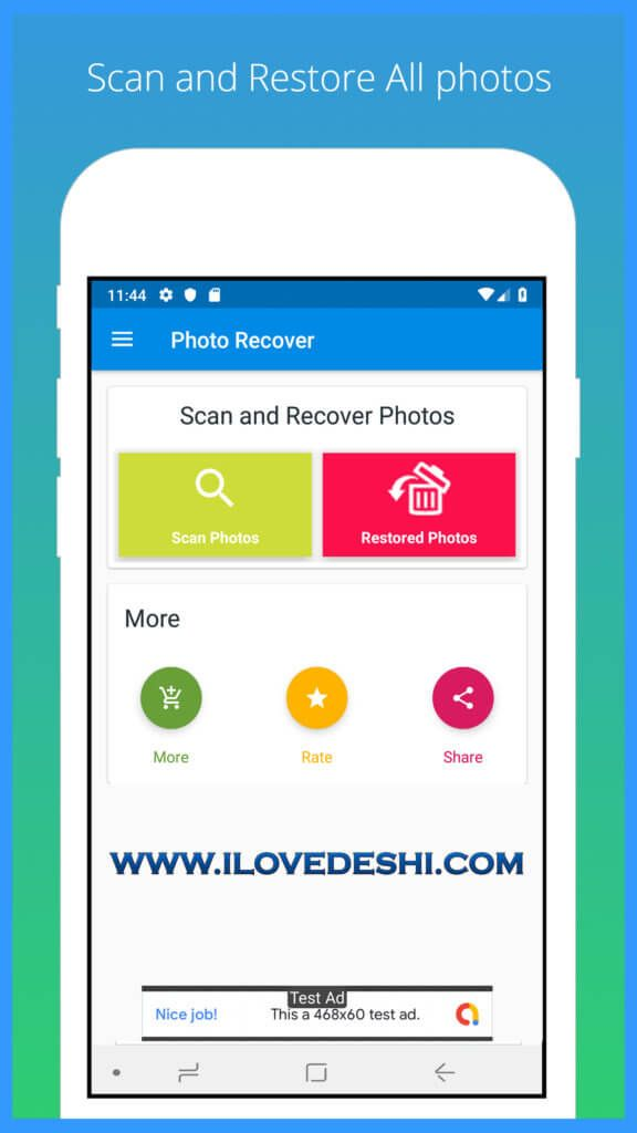 Recover Deleted Photo Android App Source Code Android