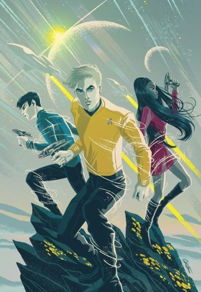 """To honor the 50th Anniversary of Star Trek: The Original Series, IDW Publishing will release a new comic book series: """"Star Trek: Boldly Go,"""" set after the new film Star Trek Beyond. Get the details at TV Series Finale. Which is your favorite property in the Star Trek franchise?"""
