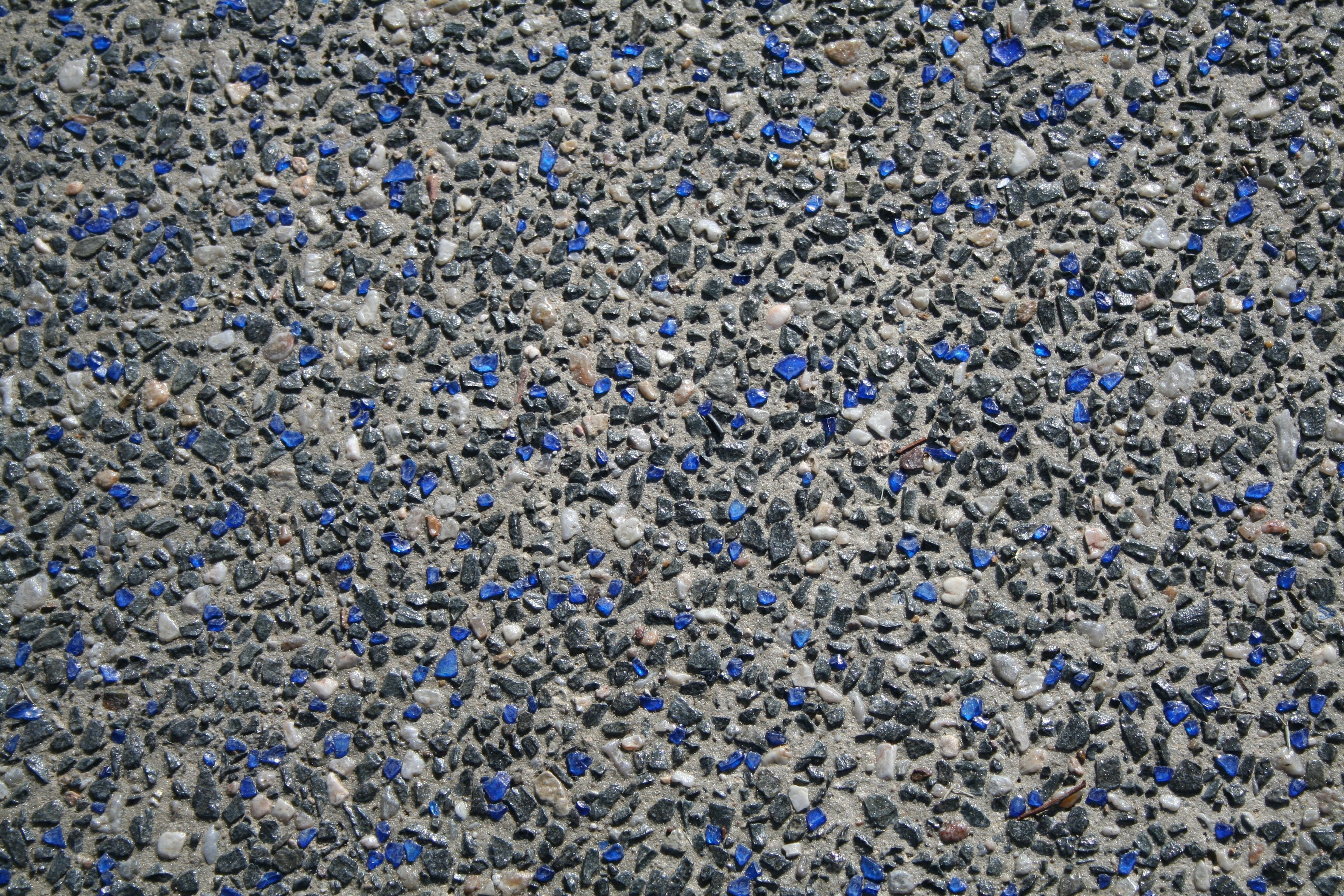 Aggregate Concrete And Recycled Glass Patio | By Our Glass Concrete  Aggregate! Transform Any Exposed