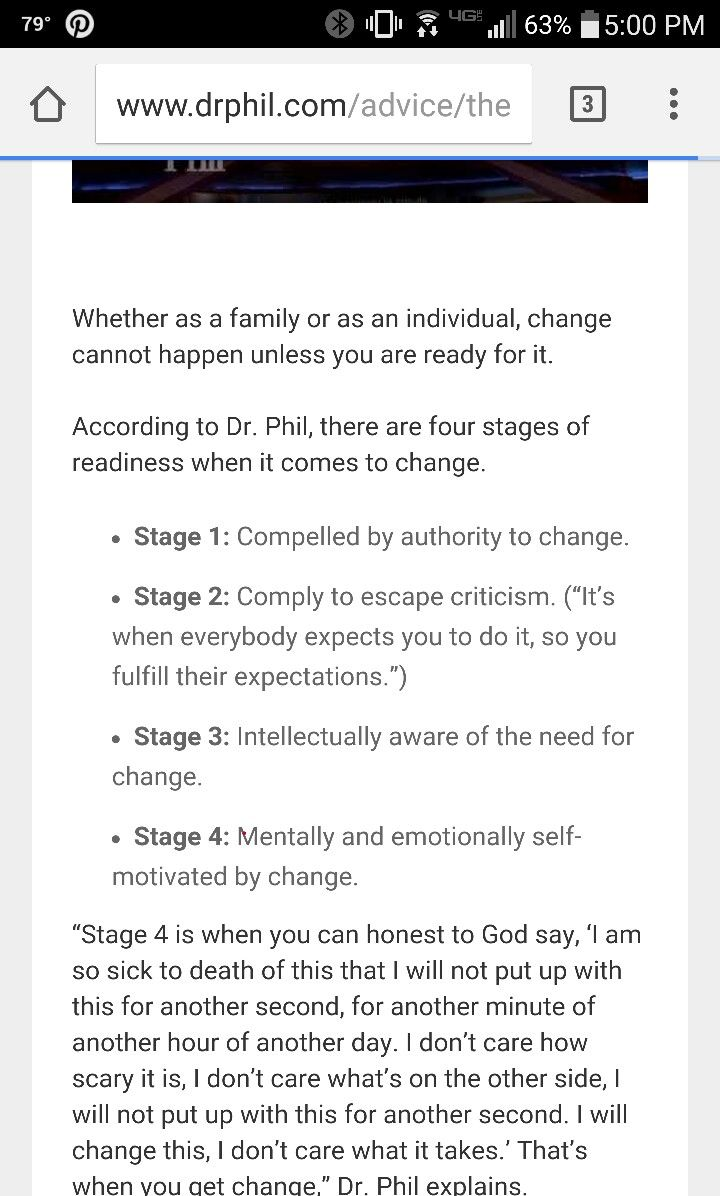 Readiness and Change in Couple Therapy