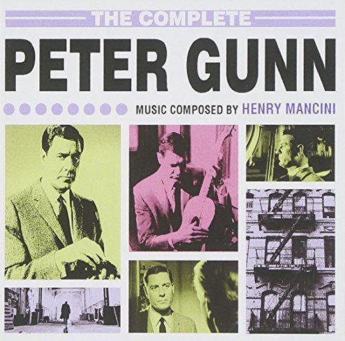 The Complete Peter Gunn Music Henry Mancini Album Covers Music