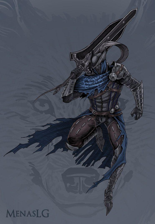 Dark Souls Bloodborne Hunter Artorias By MenasLG