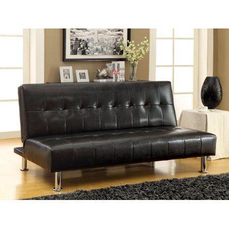 Home Leather Sofa Bed Faux Leather Sofa Futon Sofa Bed