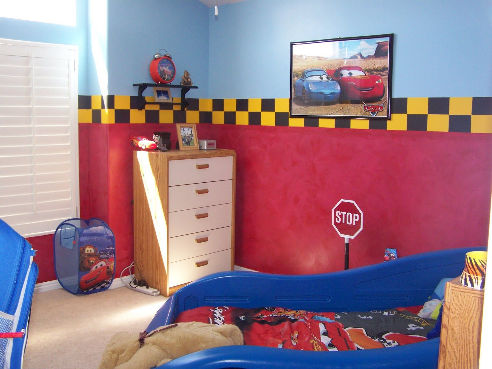 Paw Patrol Slaapkamer : Cars bedroom ferraz car bed slaapkamer