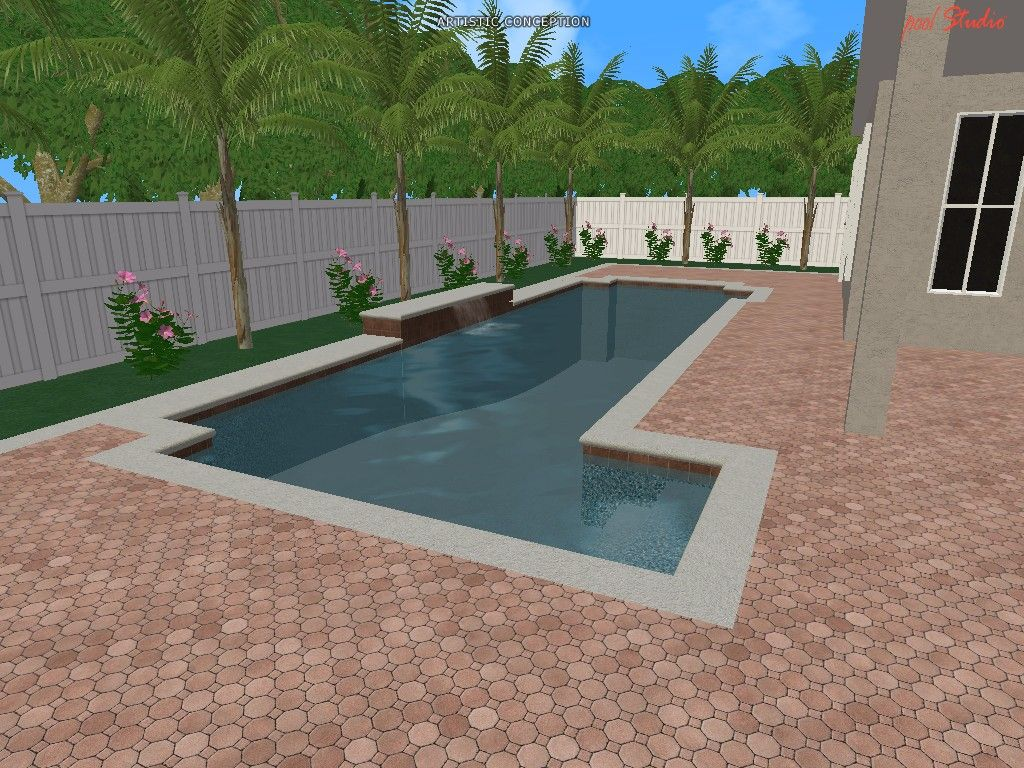 Swimming Pool Design Ideas in 3D | 3D Designs | Swimming pool ...