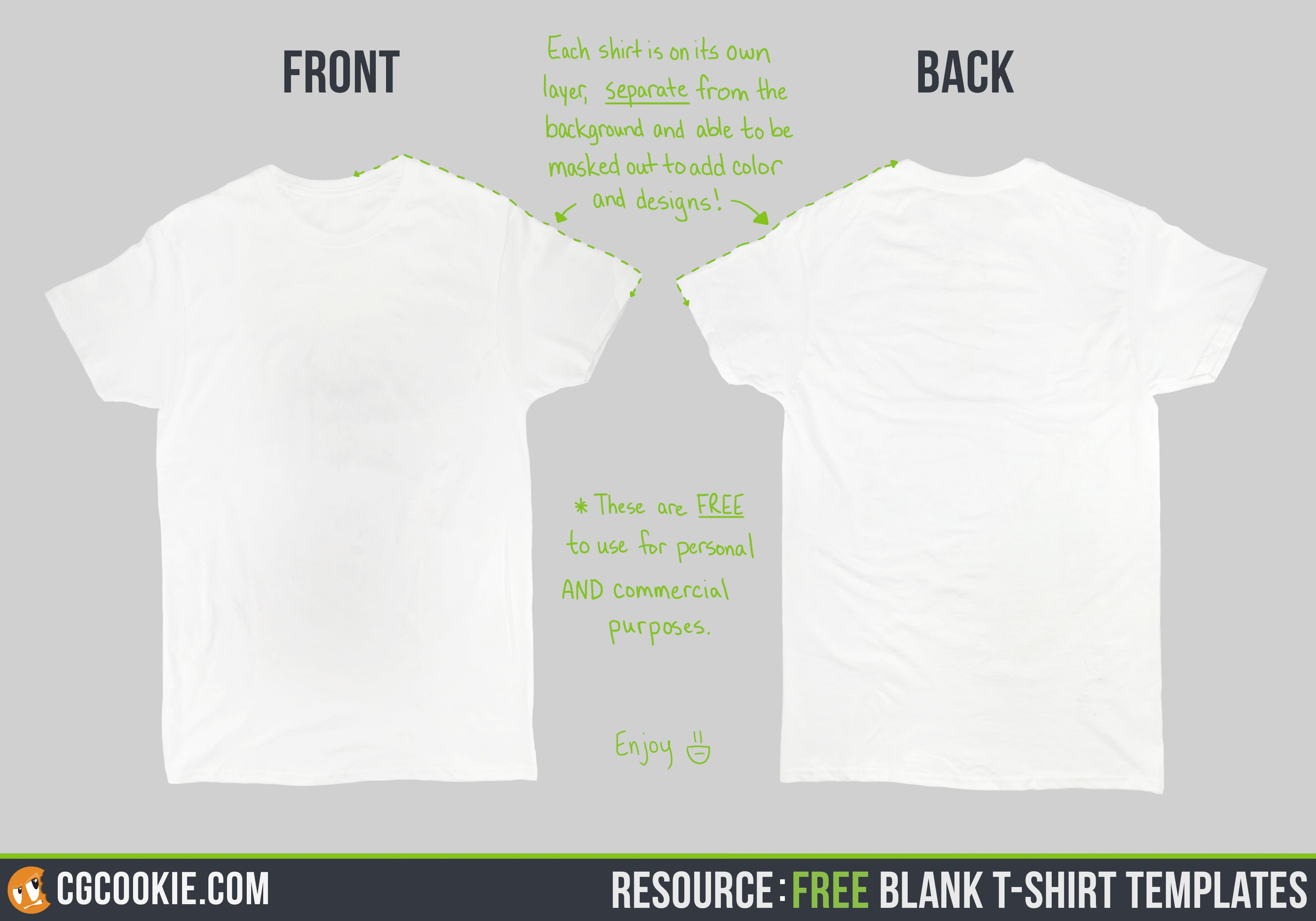 Blank T Shirt Template Corel Draw