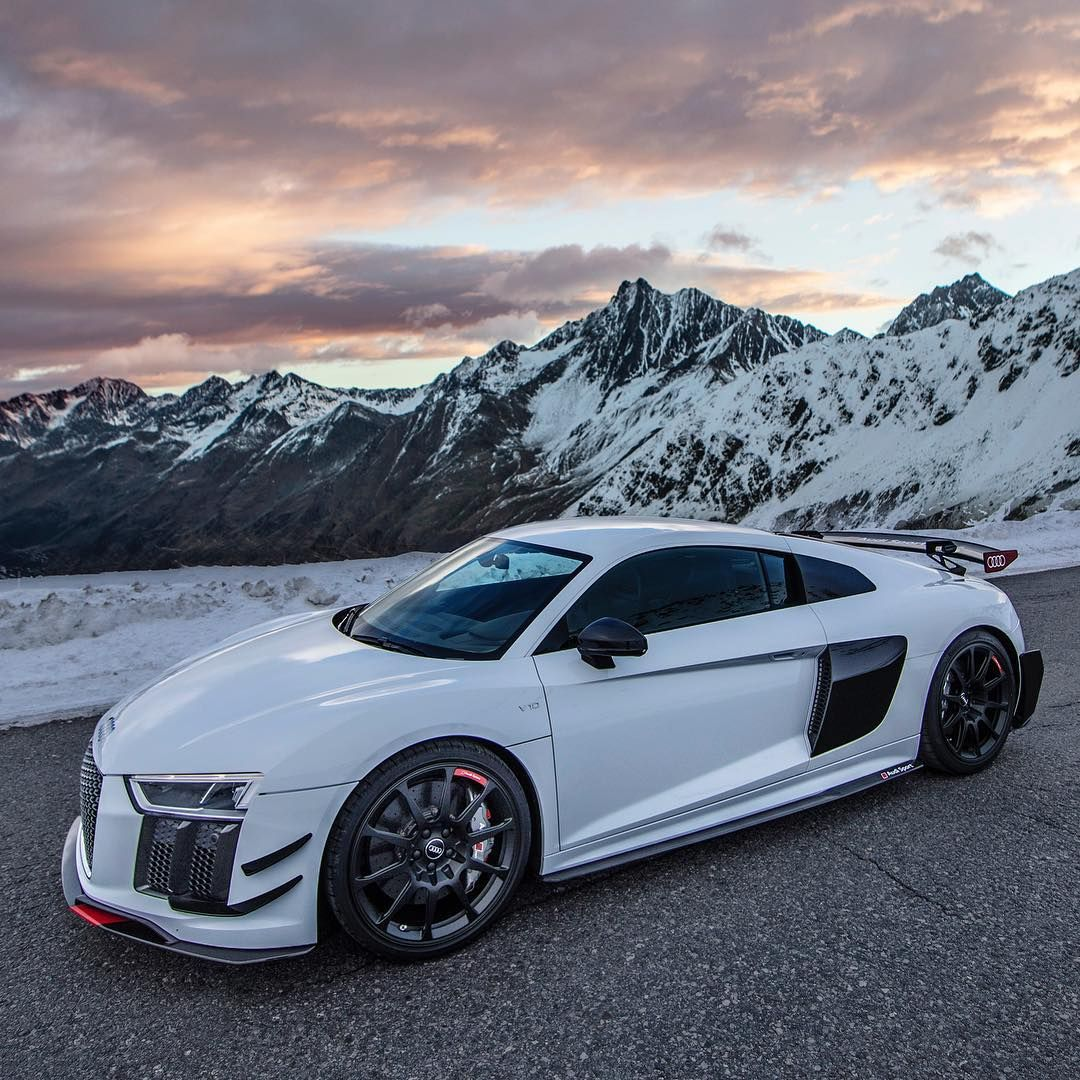 Another Unposted And Magical Shot Of The Audi R8 V10 Plus