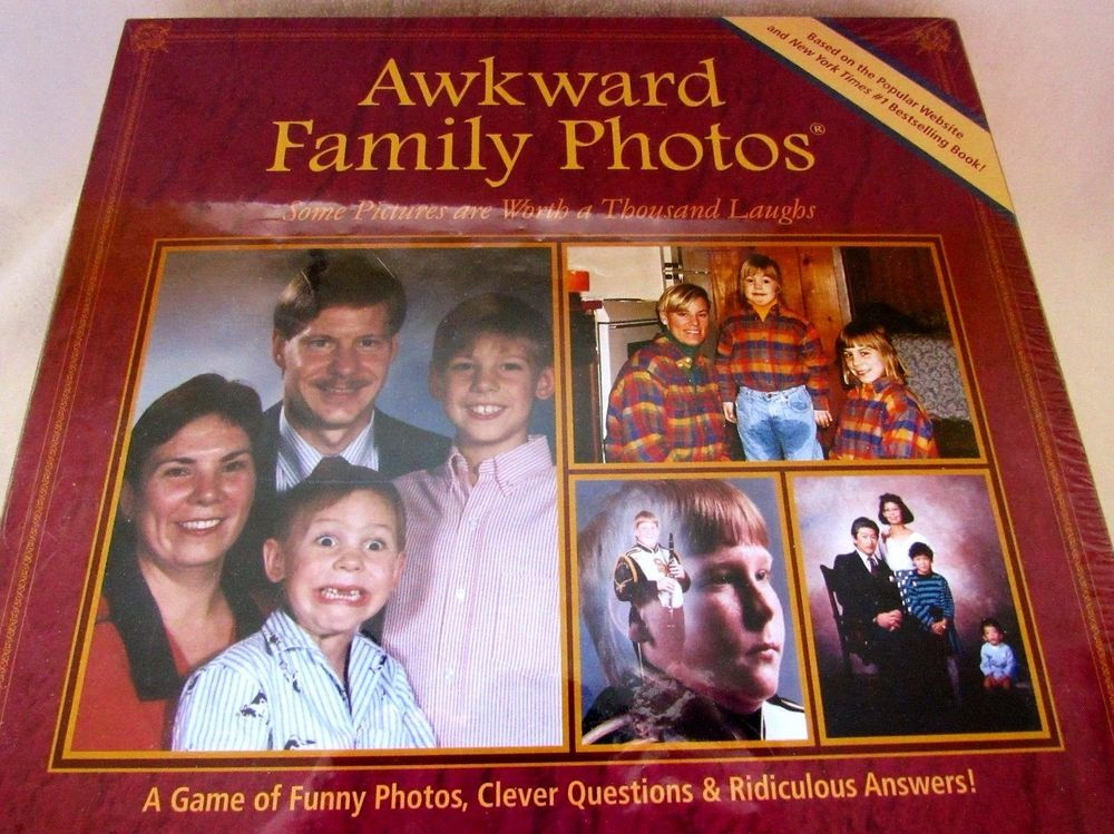 Awkward Family Photos Board Game Family Night Parties Sealed #AllThingsEqual