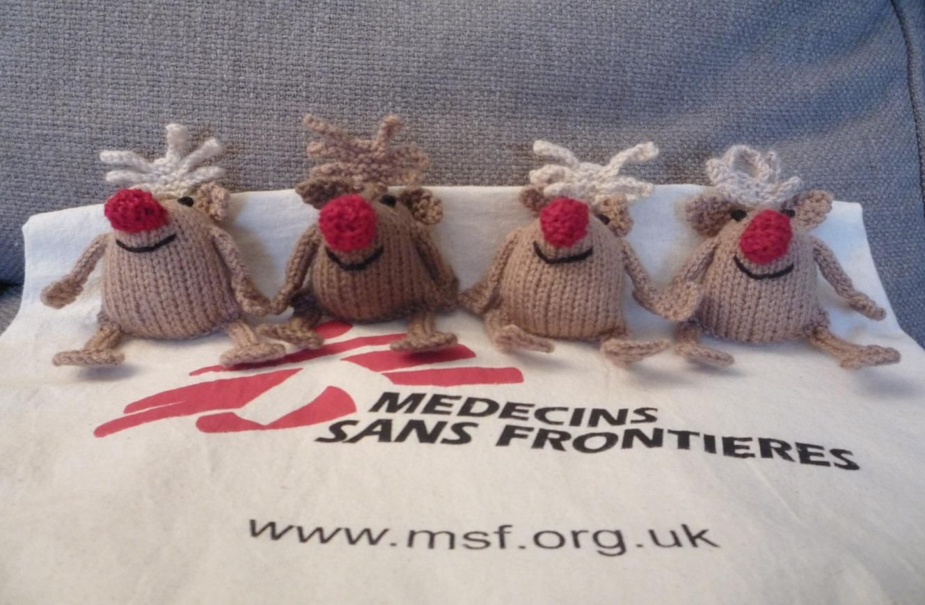 Rudolph That Reindeer ~ Free Knitting Pattern (quick and easy) ~ PDF ...