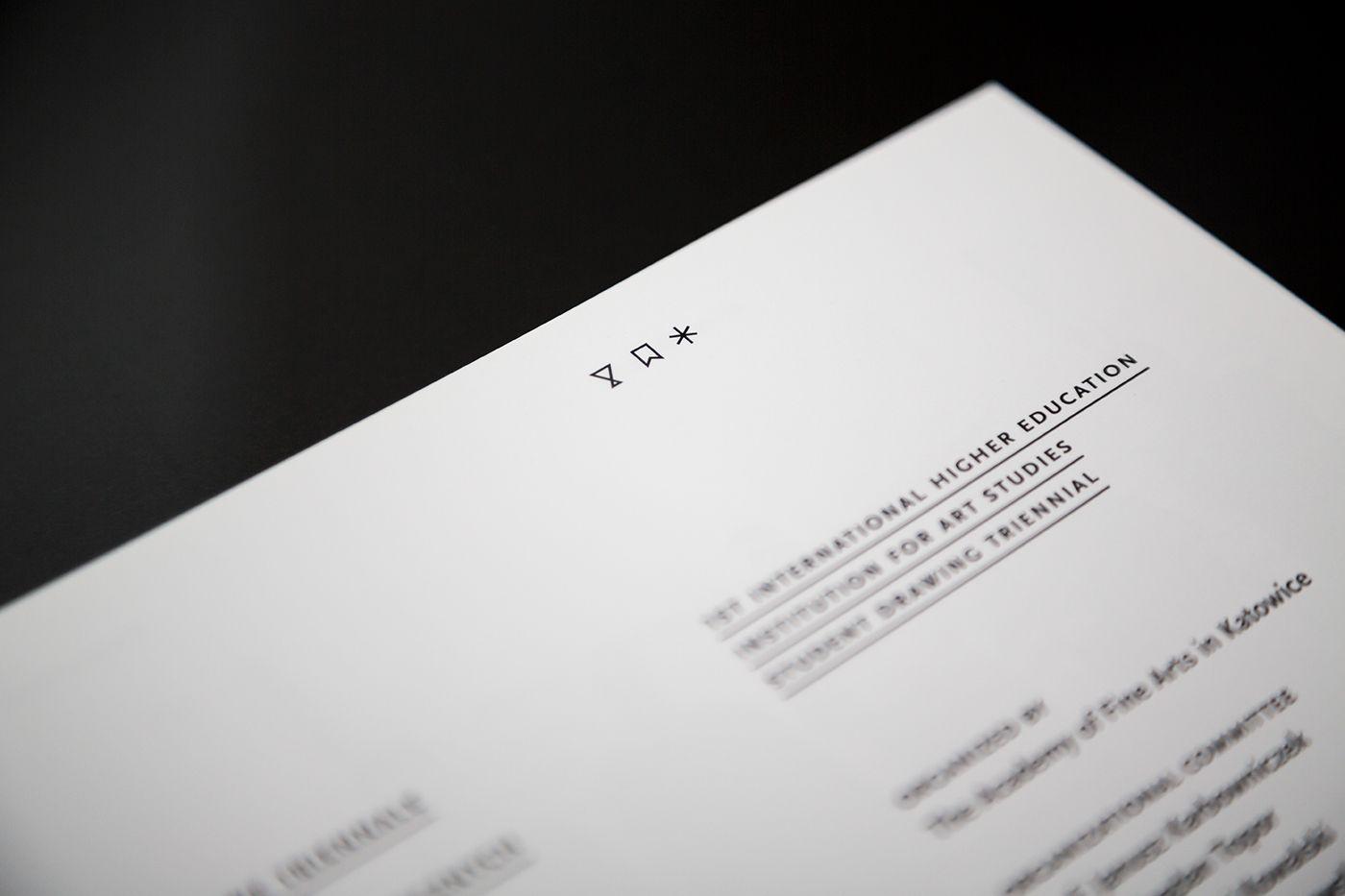 Katalog Międzynarodowego Triennale Rysunku Studentów