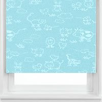 Nursery Rhymes Baby Patterned Blackout Roller Blinds