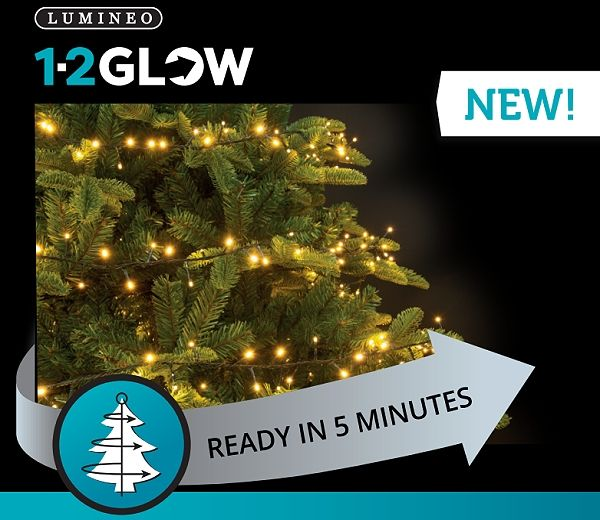 lumineo 1 2 glow led christmas lights gardensitecouk