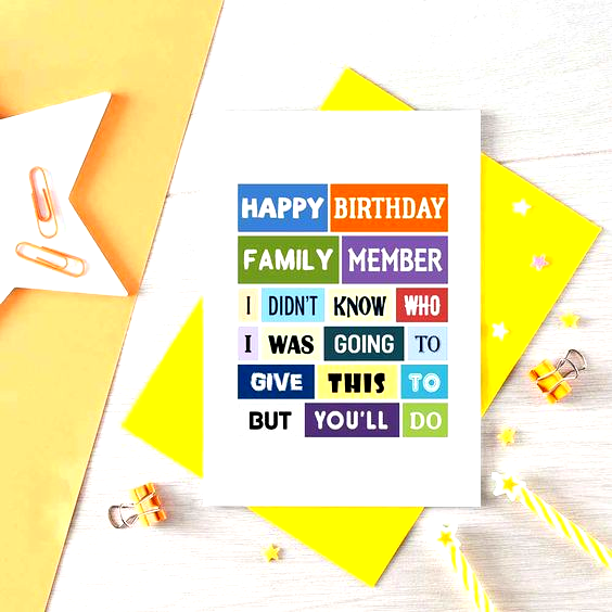 Funny Birthday Card Uncle Birthday Cousin Birthday Birthday Card Aunt Fo Aunt Funny Birthday Cards Sister Birthday Card Birthday Cards For Brother