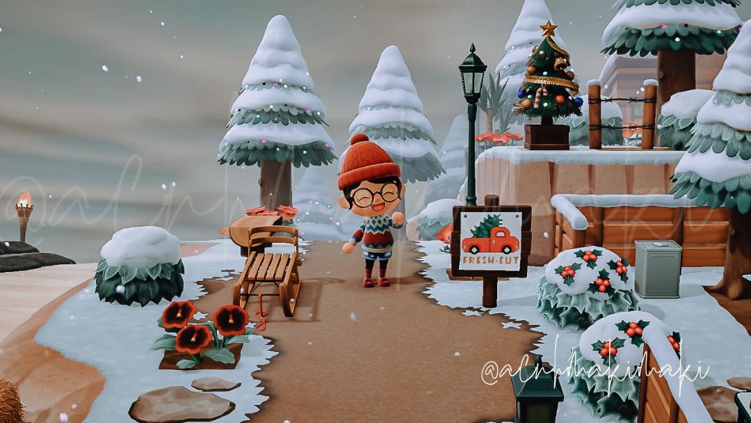 Acnh Winter Holiday Diy