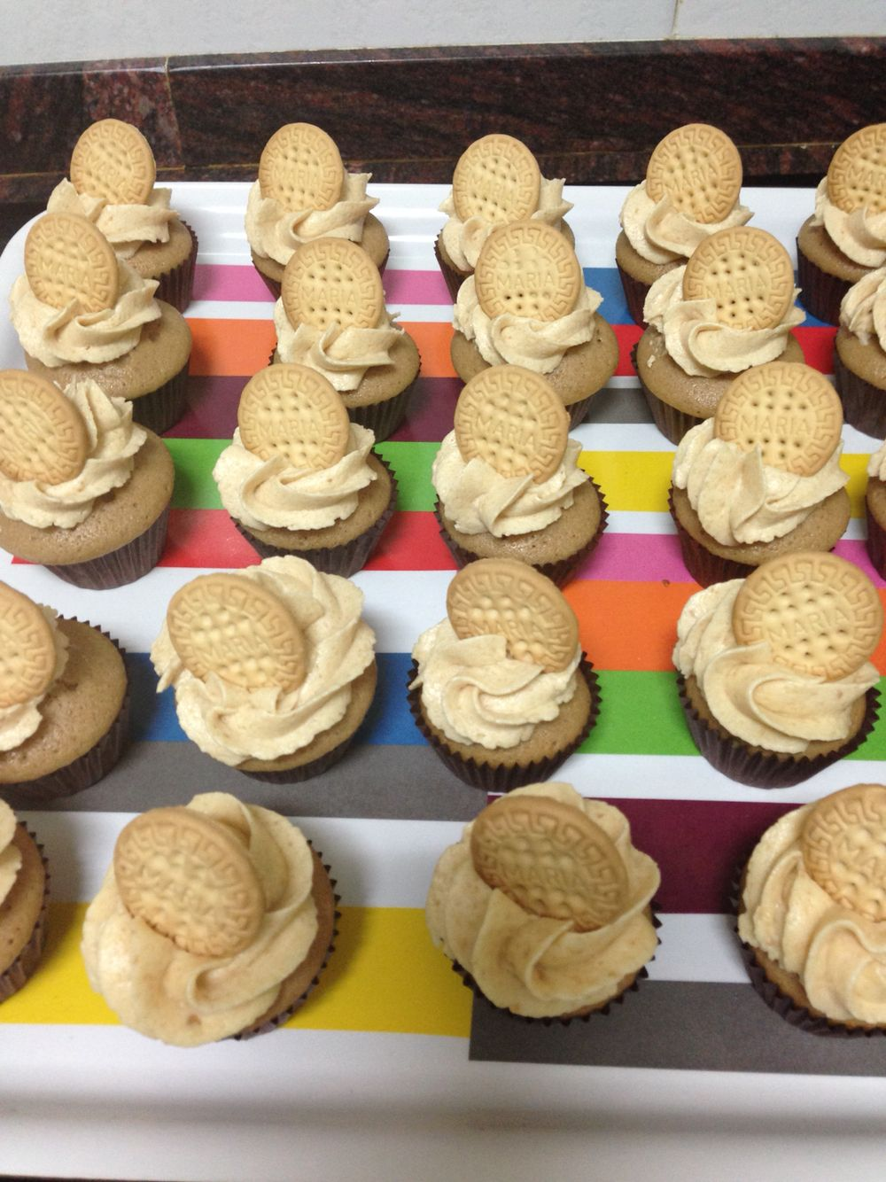Cupcakes de galletas Maria