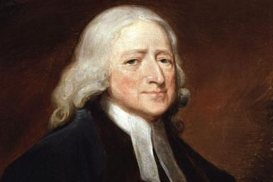 "Meet John Wesley: Co-Founder of Methodism: ""John Wesley,"" by English artist George Romney."
