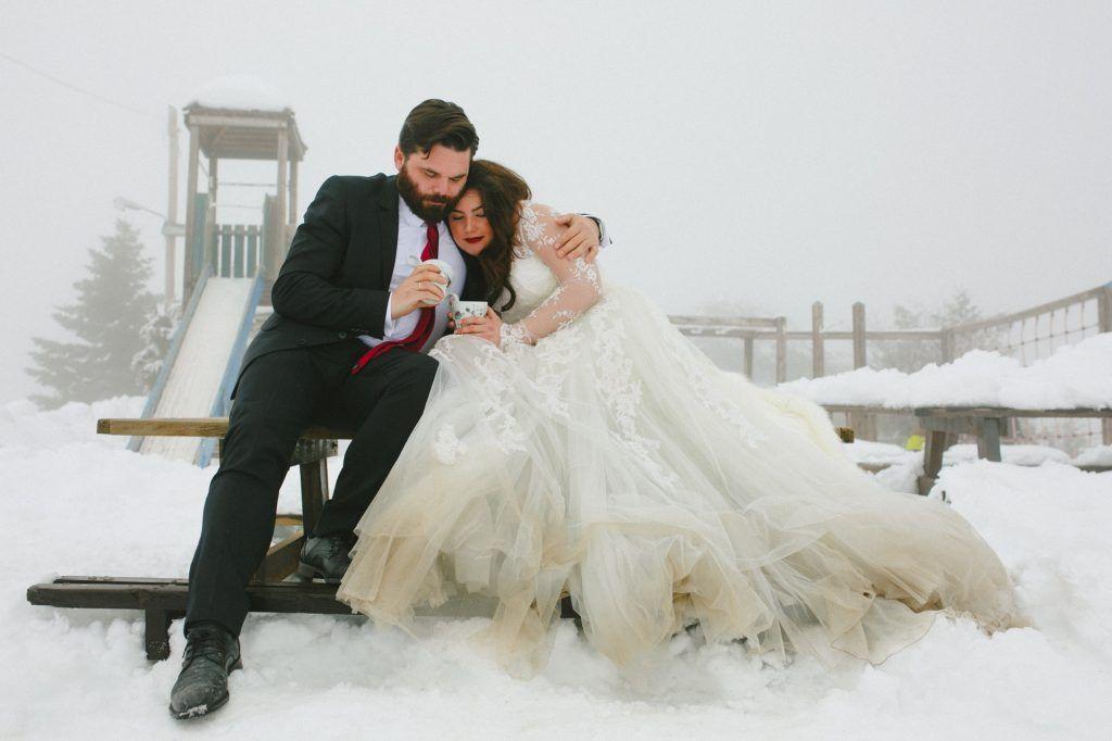 Winter Wedding In Vrachati Korinthias Anna Christos Weddingtales Gr
