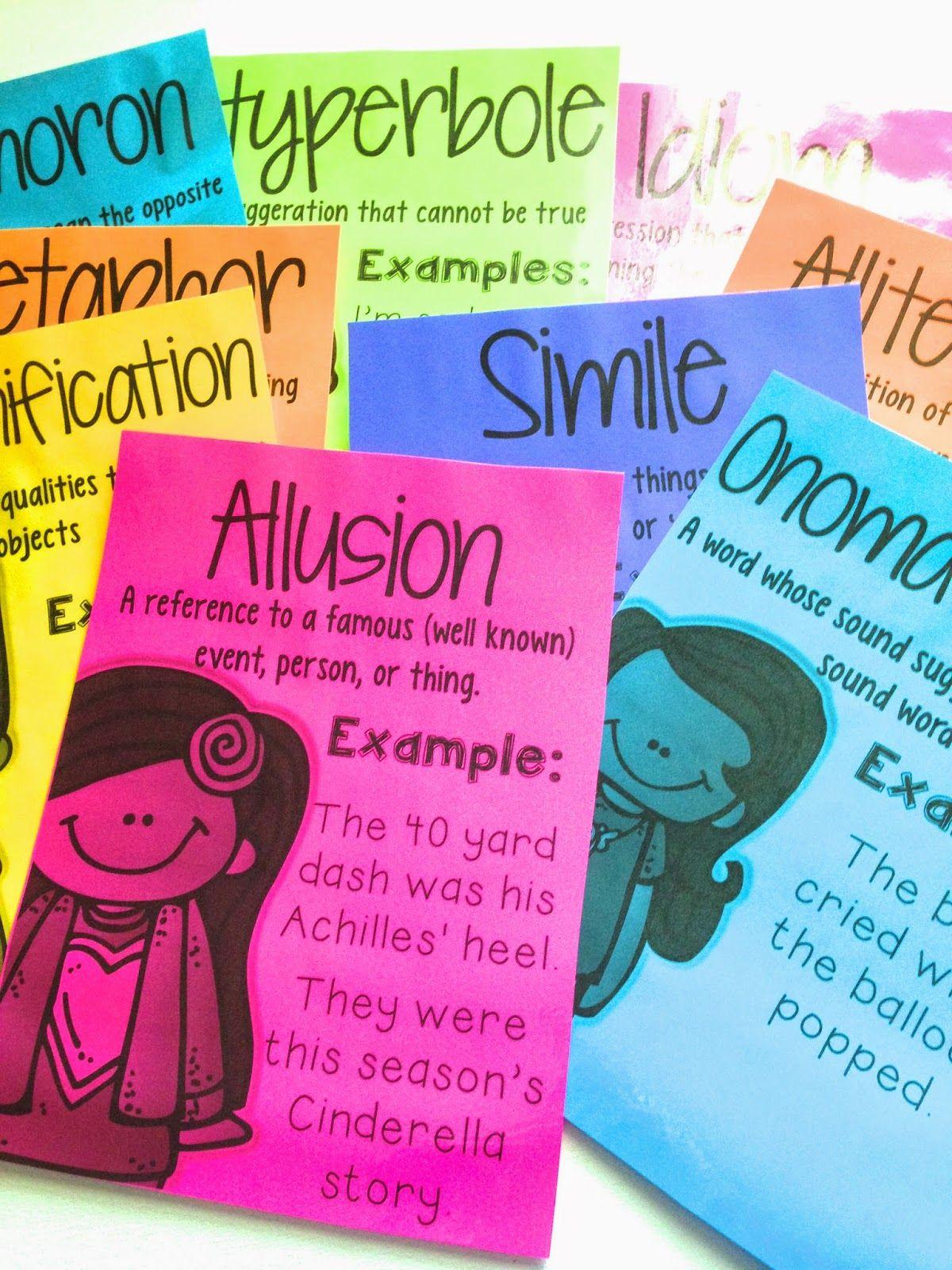 5th Grade Figurative Language