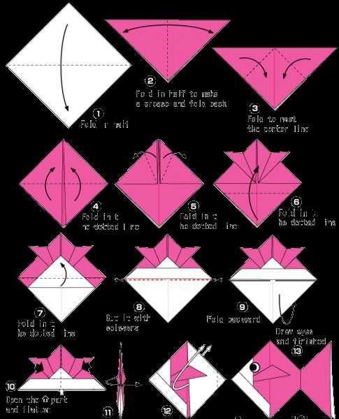 Origami Per Bambini Creare Un Pesce Origami You Tube Di Origami