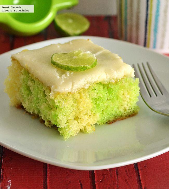 Receta para preparar un pastel de limón agujerado. Con fotos del paso a paso y consejos de degustación...