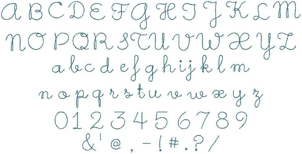 Image result for hand stitch floss monogram preview