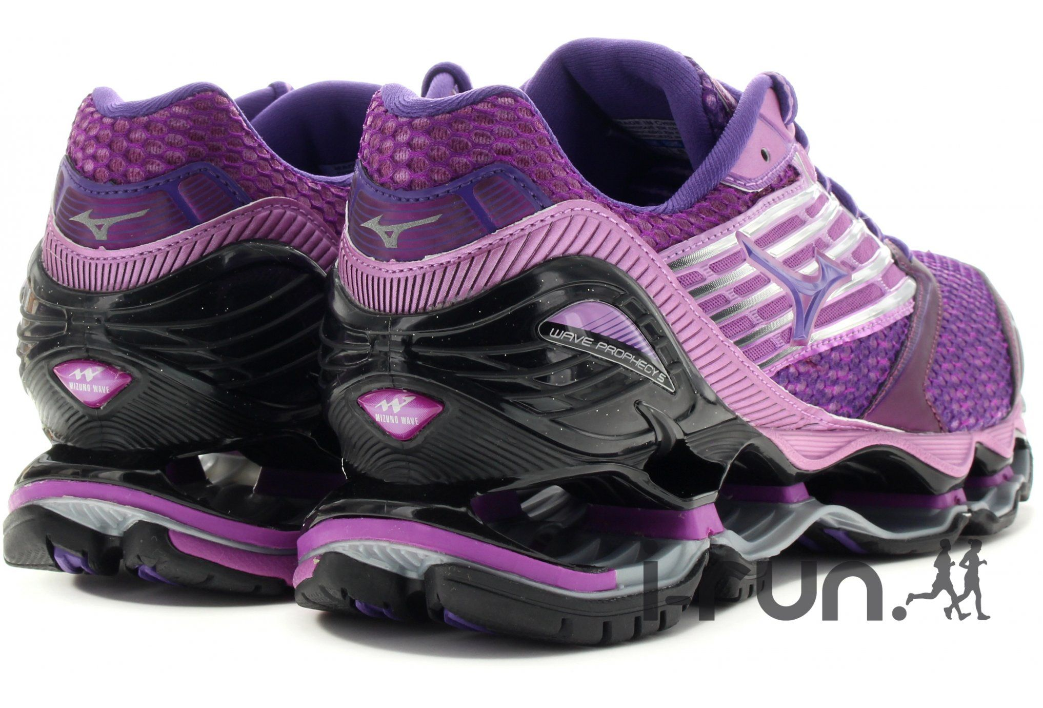 e0b04db837c Mizuno Wave Prophecy 5 W pas cher - Chaussures running femme running Route    chemin en