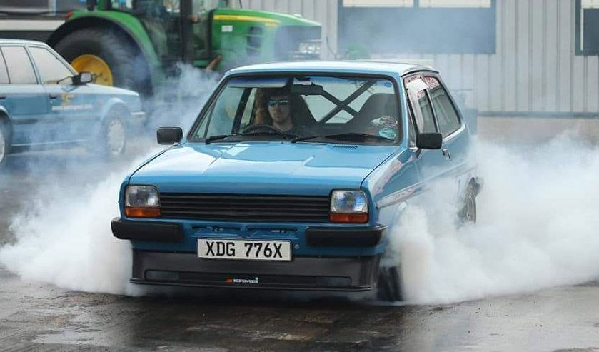 Loving this Fast Road MK1 Ford Fiesta with modified ST170