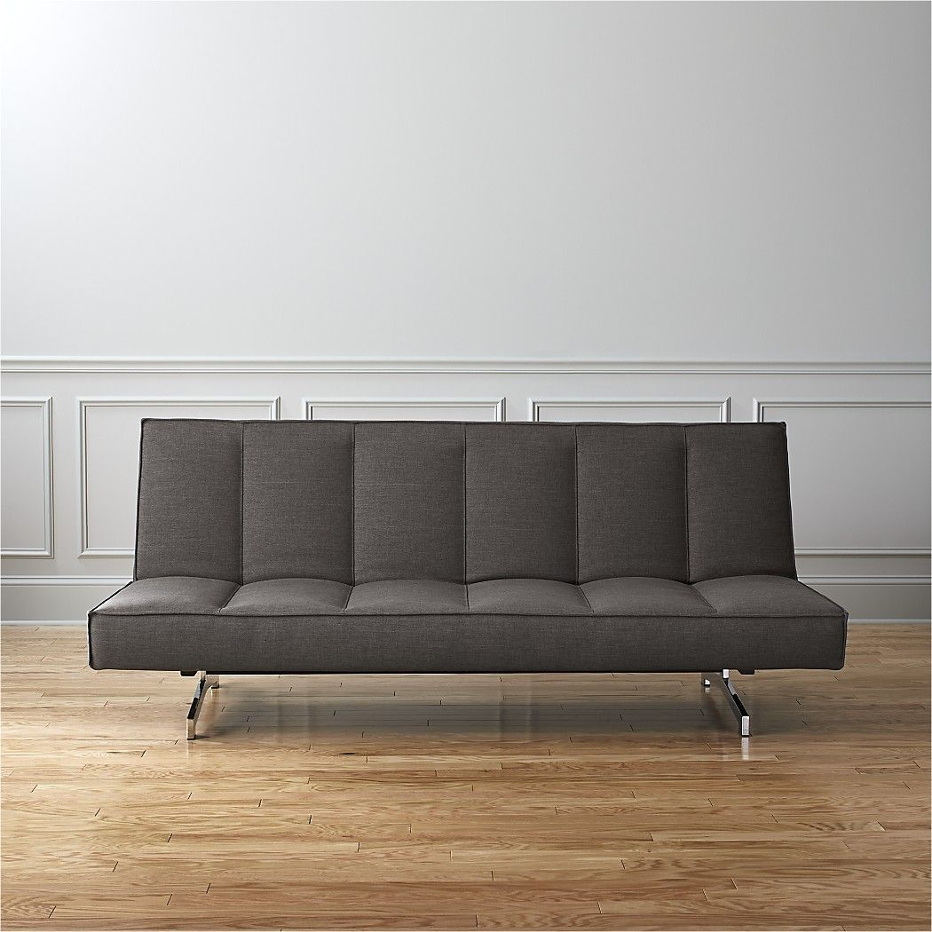 Flex Grey Queen Sleeper Sofa + Reviews Sleeper sofa