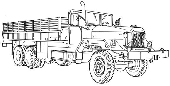 commercial truck drawings images