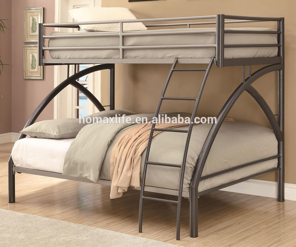 Steel double deck bed - Bedroom Furniture Metal Twin Over Full Bunk Bed Bd 3050 Buy Bedroom Furniture Metal Twin Over Full Bunk Bed Bedroom Furniture Twin Over Queen Bunk Bed
