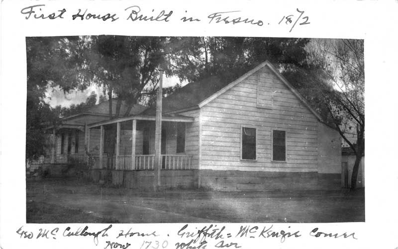 First house built in Fresno California 1872 Old Fresno Calif - fresh fresno county hall of records birth certificate