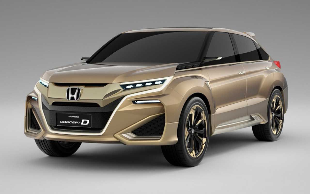 Honda debuts concept d crossover at the shanghai motor show honda has presented a world premiere of its concept d car the concept model for a new suv