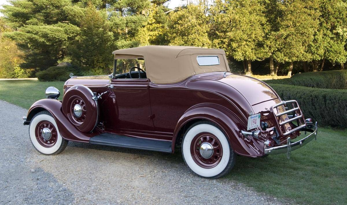 1934 Plymouth PE Delux Six Convertible Hemmings Motor News