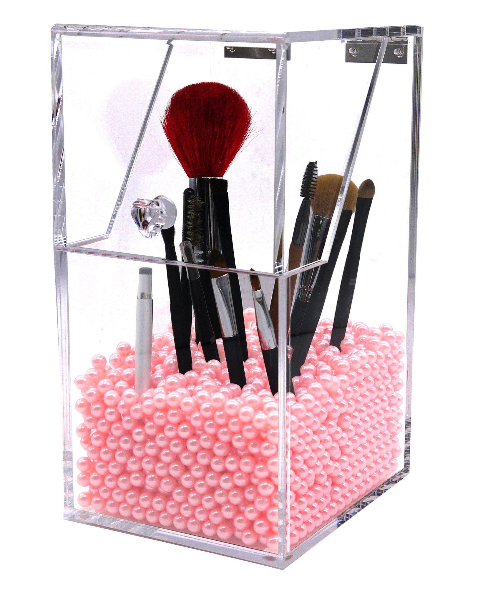 Make Up Brush Holder Dustproof Storage Box Premium Quality