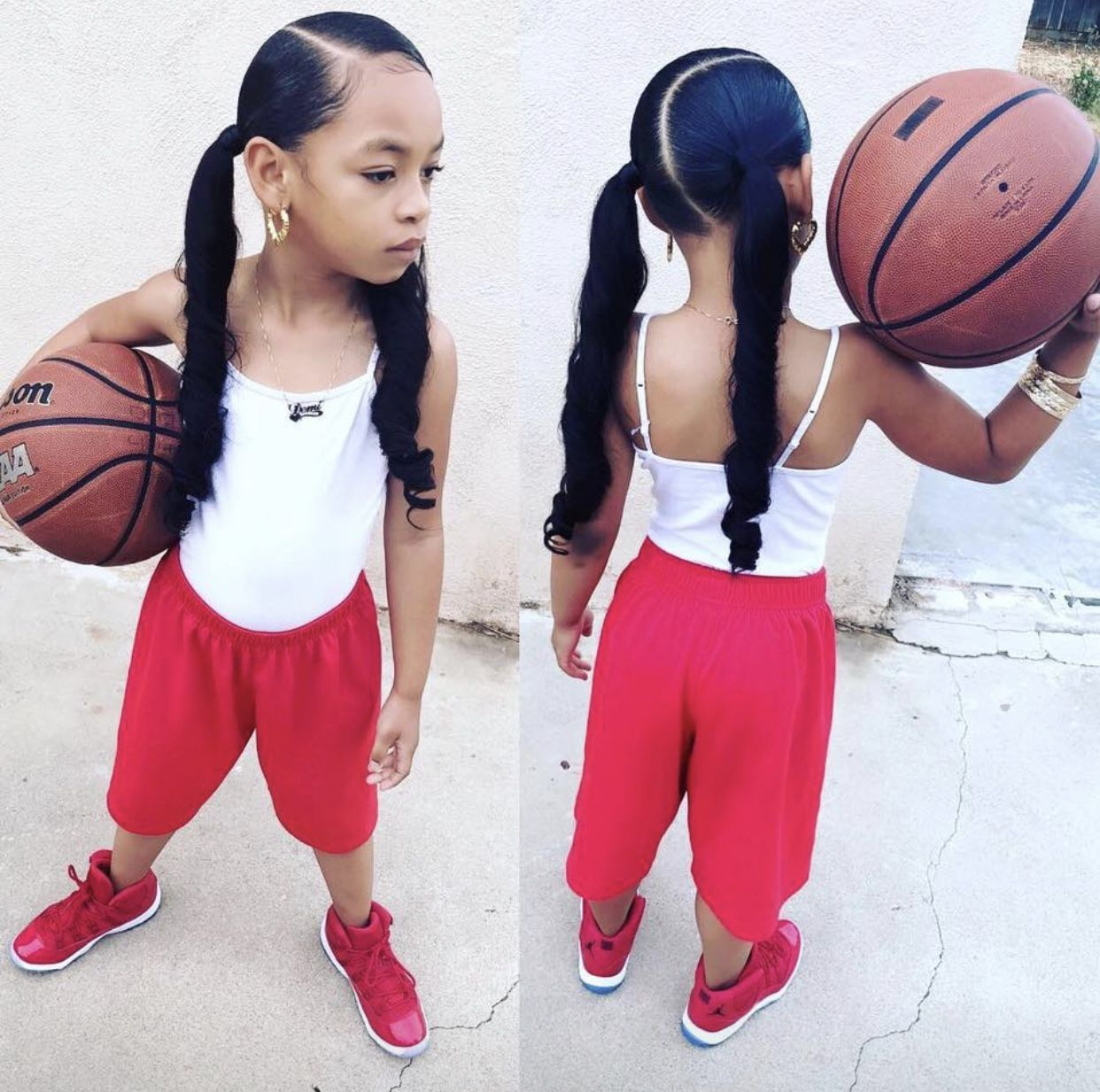 Hairstyles For Black Basketball Players Girls - Wavy Haircut