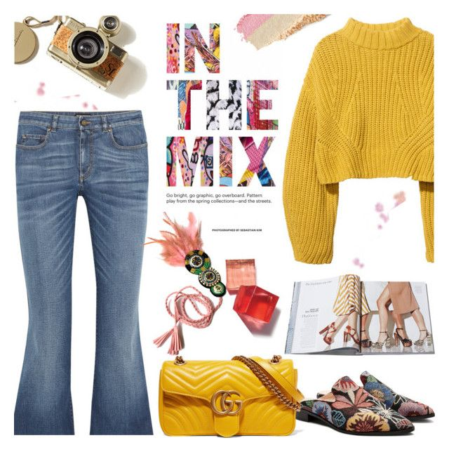 Mix by cilita-d on Polyvore featuring polyvore, moda, style, H&M, Tom Ford, Gucci, Clinique, fashion and clothing