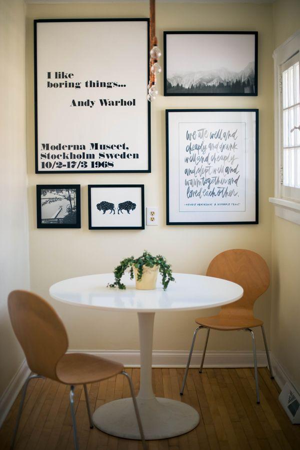 Hermosa Ideas Pared De La Galería De Cocina Fotos - Ideas de ...