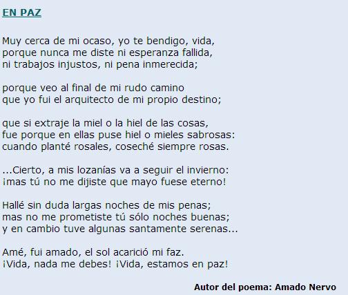 En Paz Poema De Amado Nervo Nervo Frases Poetry Y Poems