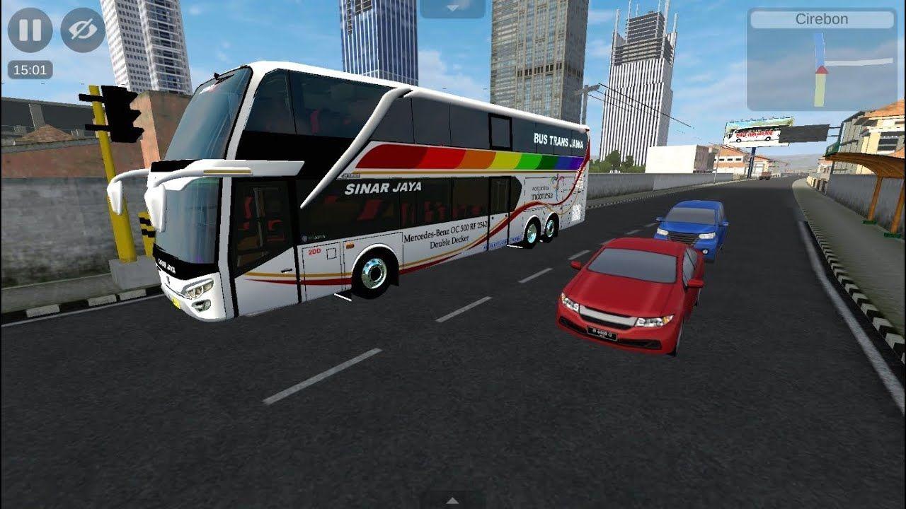Mainan Anak Laki Laki Mobil Mobilan Bus Simulator Indonesia Permainan Mobil Bus Sinar Jaya Mobil Mainan Anak Indonesia
