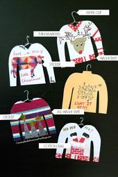 #Christmas #DIY #Ornaments #sweater #ugly #uglychristmassweatersdiy