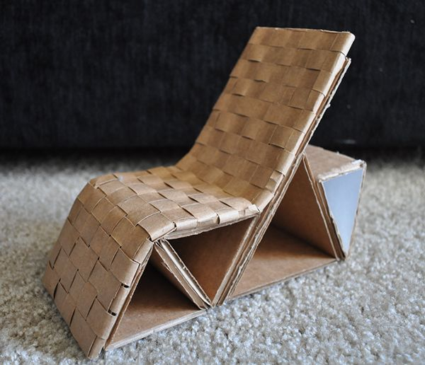 Crdboard Chair No Glue Google Search