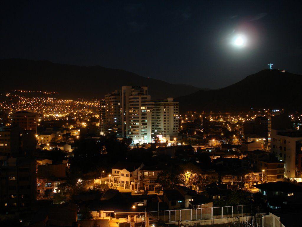 Cochabamba Night Vista San Francisco Skyline Seattle Skyline Skyline