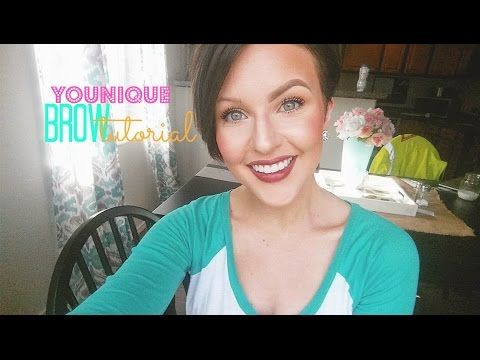 Hello beauties! Thank you for taking the time to check out my brow tutorial using ALL Younique products! I am basically obsessed with this whole product line... #nicolehuntsmanhair