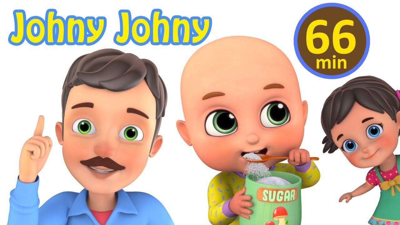 Johny Johny Yes Papa Nursery Rhymes Collection From Jugnu Kids Kids English Rhyme Learnwithfun Presc Kids Nursery Rhymes Nursery Rhymes Rhymes For Kids
