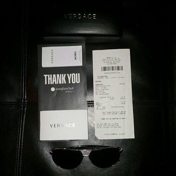 684e7043f1 Versace sunglasses Slightly Used pair