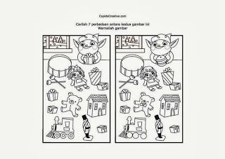 Permainan Anak Serupa Tapi Tak Sama Mencari Perbedaan Dua Gambar Permainananak Art Comics Sale